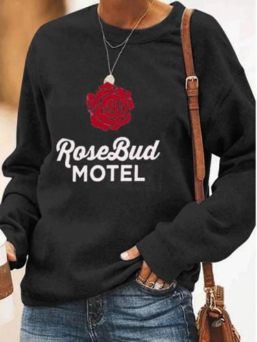 Rose Bud Motel Sweatshirt