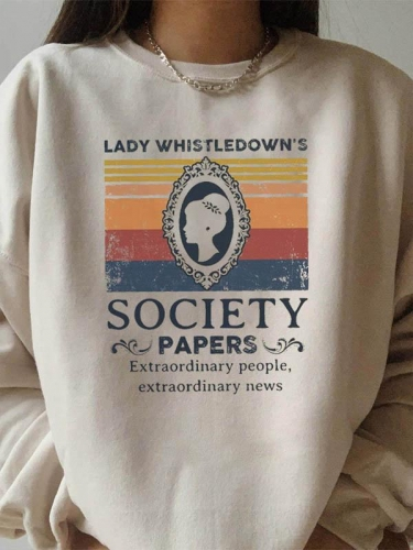 Lady Whistledown Classic Sweatshirt