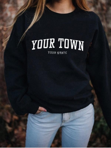 Your Town Sweatshirt