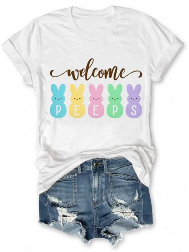 Welcome Peeps Easter Tee