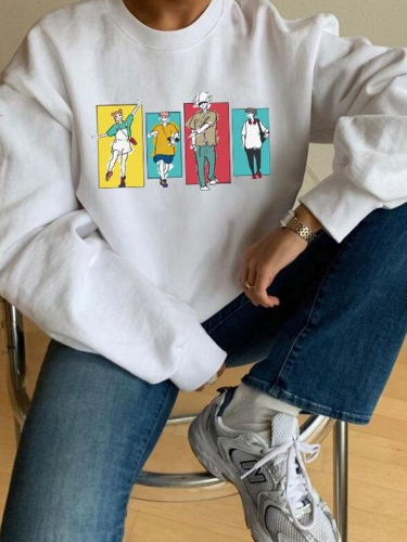 [PRE-SALE] Volleyball Anime Characters Sweatshirt
