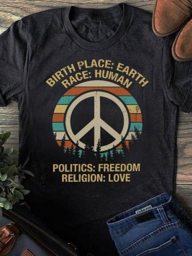 Politics Freedom Love Tee